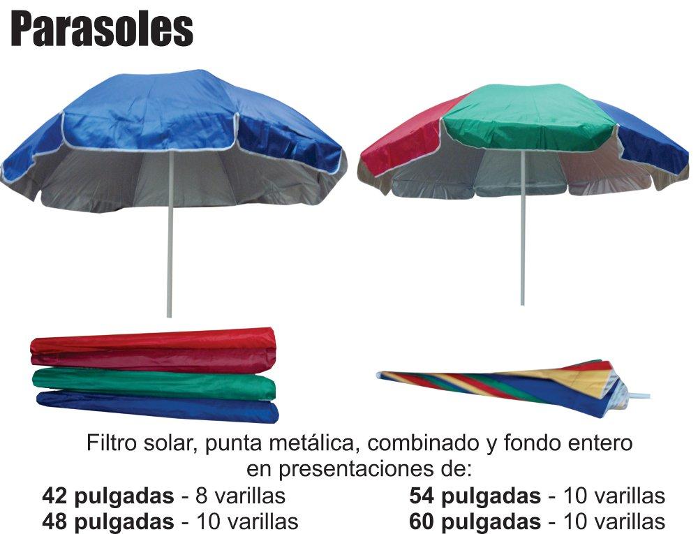 Venta de parasoles materiales de construcci n para la for Parasoles jardin